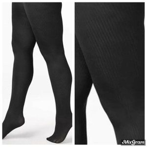 Berkshire Easy-On Ribbed Tights Black Size: 1X-2X